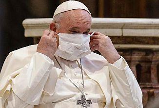 Papež danes ponovno pozval k cepljenju proti koronavirusu!