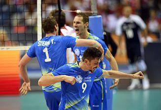 Ob 20.30 se bodo slovenski odbojkarji pomerili z Italijani za naslov evropskega prvaka!