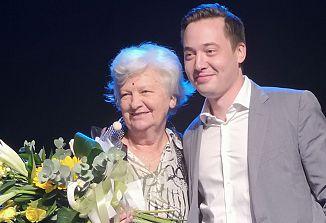 Letošnja zelo zaslužna nagrajenka je Marija Sreš