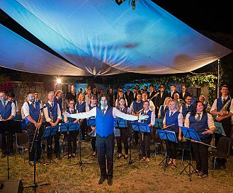 Poljane / Koncert Pihalnega orkestra Kras