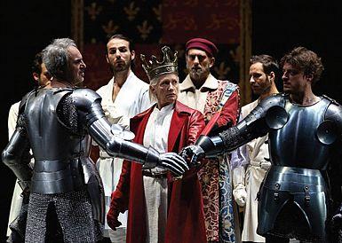 V Rossettiju še Goldonijeva Vojna, Shakespearjev Rihard II., ples in glasba