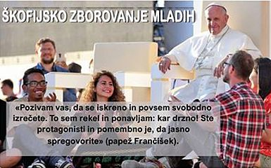 Škofijsko zborovanje mladih
