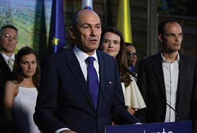 Slovenska demokratska stranka z Janezom Janšo zmagovalka parlamentarnih volitev!