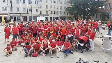 Rdeče majice tudi v Gorici