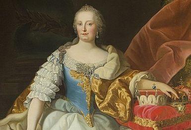 Marija Terezija v Državnem arhivu v Trsu