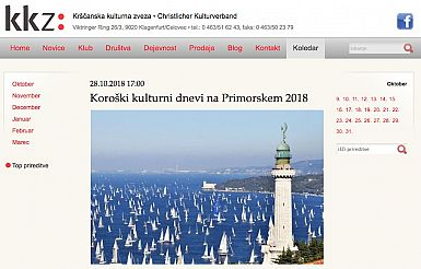 18. Koroški kulturni dnevi na Primorskem