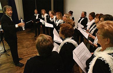 Lep, tradicionalen nastop tržaških zborov