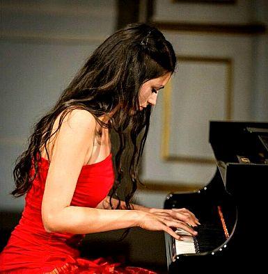 V Naborjetu koncert pianistke Saše Malek