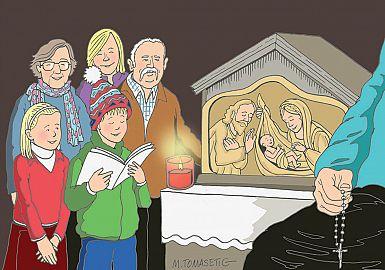 Božična Devetica v Rečanski dolini