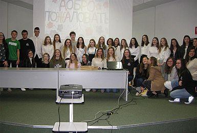 Ruski dijaki iz Sankt Peterburga en teden gostje v Gorici