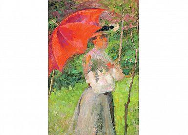 Na ogled so dela slovenskih impresionistov