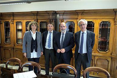 Predsednika krovnih organizacij Slovencev sta danes v Rimu