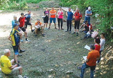 Kolesarji iz Slovenije na poti treh svetišč (1)