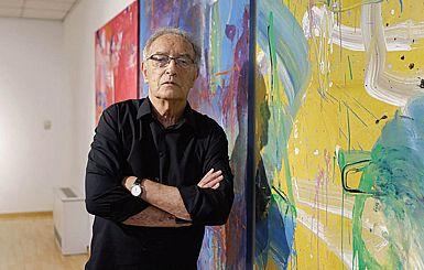 Razstavlja slikar svetlobe Andrej Jemec