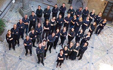 Zbor Slovenske filharmonije v centru Bratuž