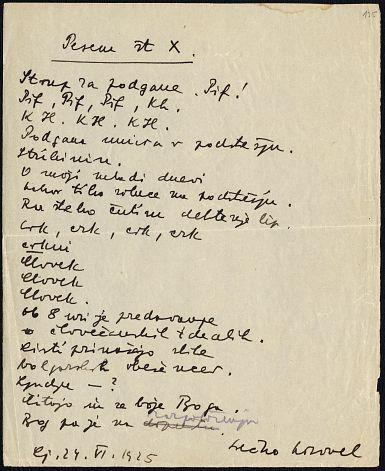 Danes je svetovni dan poezije