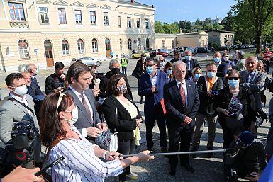Minister Hojs je napovedal odprtje dveh kontrolnih točk na goriški meji