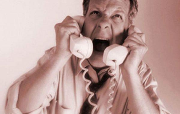 Nasilno oglaševanje po telefonu