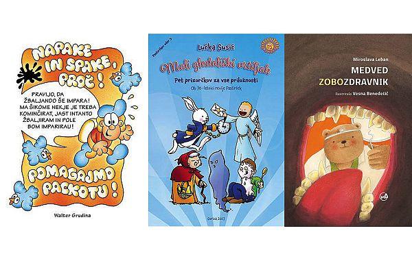 Pastirček vabi na predstavitev treh novih knjig