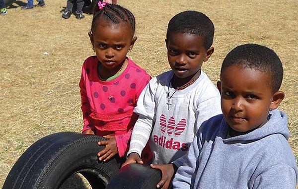 Vsakdanje življenje in delo uršulink v glavnem mestu Etiopije