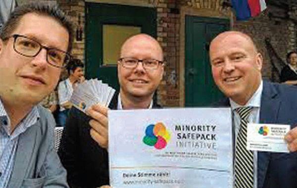 EFHR podpira Minority SafePack na področju Litve