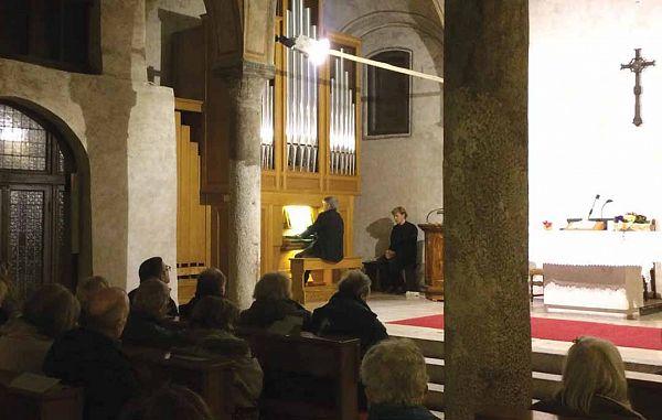 Orgelski koncert prof. Zudinija