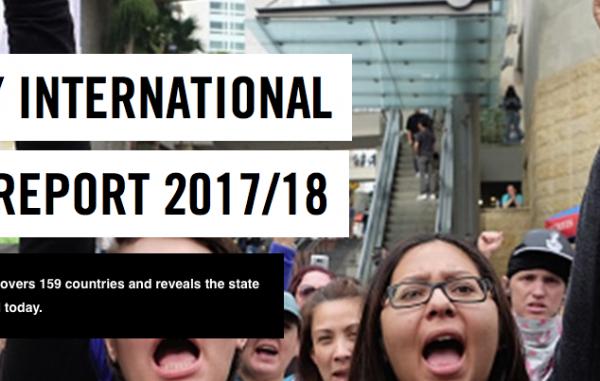 """Poročilo Amnesty International: """"Vse več sovraštva je med nami!"""""""