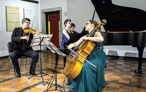 Grajske harmonije s Klavirskim triom Faganel