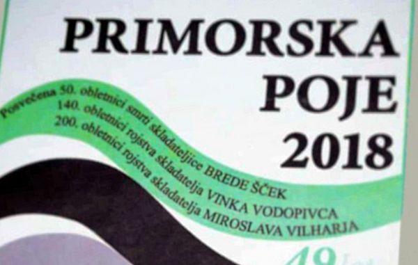 Primorska poje 2018 na Goriškem