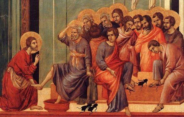 Prvi dan svetega tridnevja: Veliki četrtek