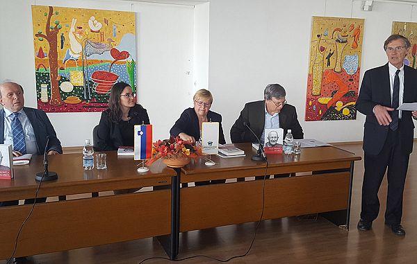 Predstavitev v Ljubljani Skozi taborišča do sreče