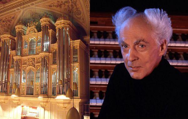 Veličastne orgle v koprski stolnici in koncert Jeana Guillouja v Ljubljani (10. maja)
