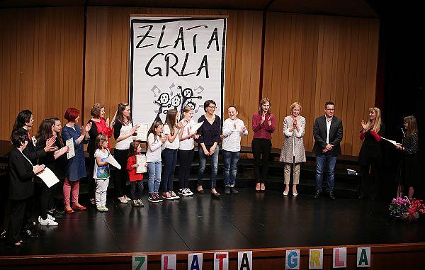 Gorica, 15.4.2018 / Zlata grla