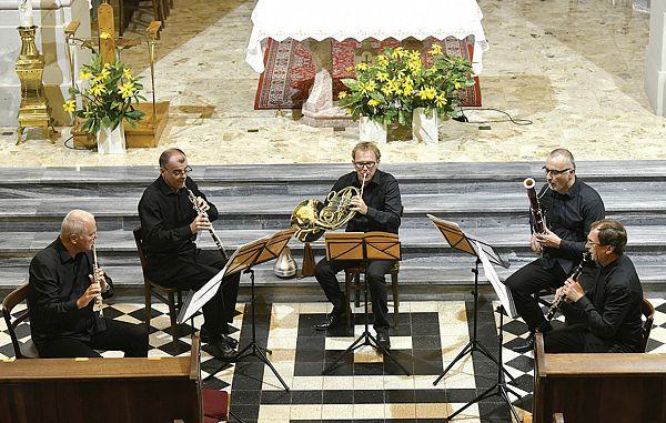 Vrhunska igra Pihalnega kvinteta Slowind