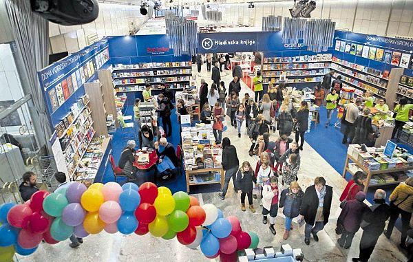 Naše založbe se predstavljajo na 34. knjižnem sejmu v Ljubljani