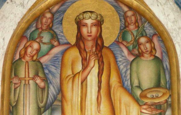 Danes je god sv. Lucije