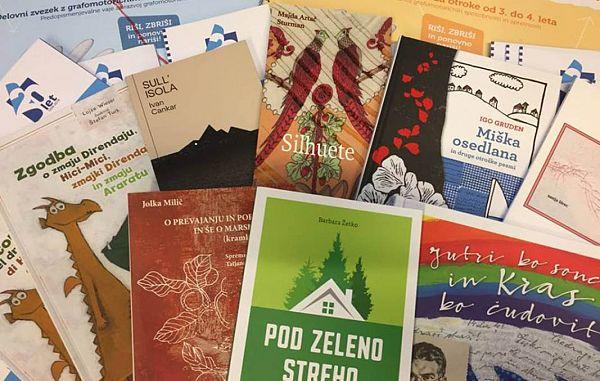 Knjižne izdaje ZTT v Štalci v Šempolaju