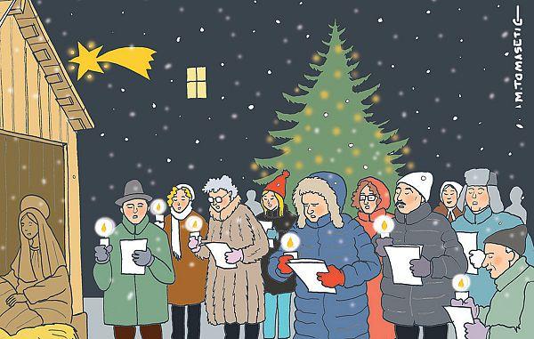 Zgodovina božične Devetice v Rečanski dolini