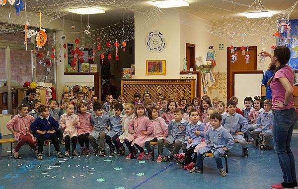 Učiteljice iz daljnih držav v vrtcu Ringaraja