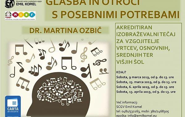 Glasba in otroci s posebnimi potrebami