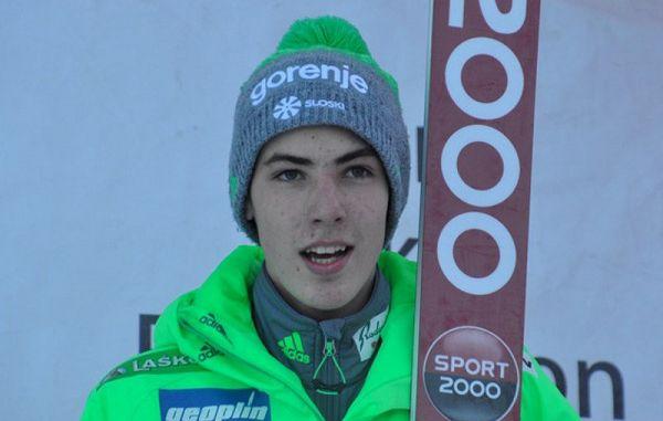 Mladi Timi Zajc zmagal na tekmi v smučarskih poletih v Oberstdorfu