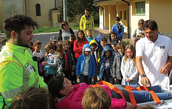 Učenci so izvedeli marsikaj o prvi pomoči