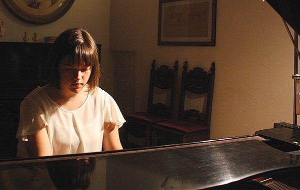 Zrela igra pianistov Michele Sbuelz in Lorenza Tomade