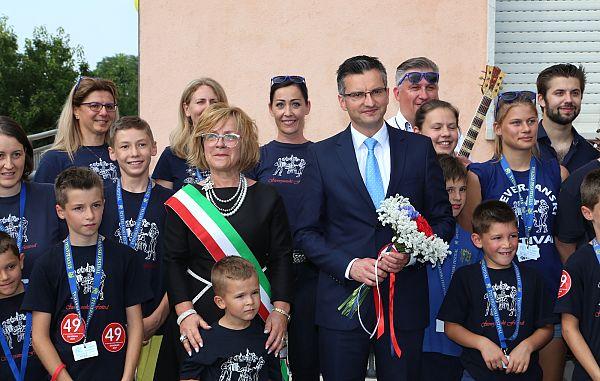 Predsednik Šarec v Števerjanu