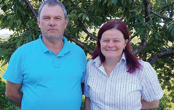 Katja in Ivan Vogrič o letošnji letini