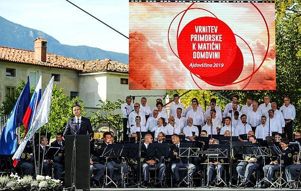 Danes je praznik, dan vrnitve Primorske k matični domovini