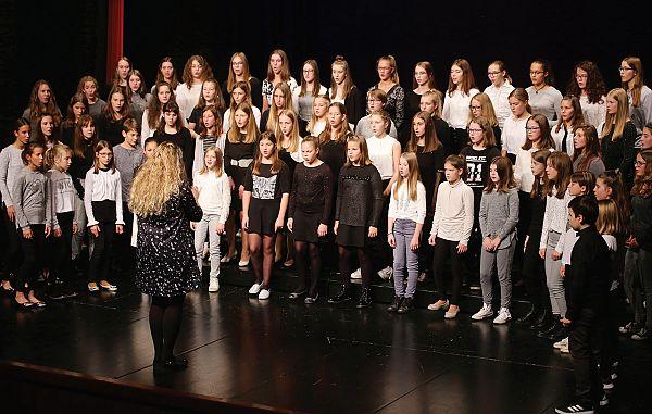 Briljanten nastop cveta mladih primorskih pevcev