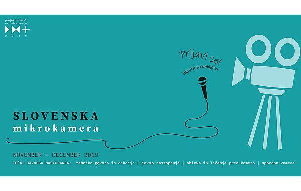 Dodatna delavnica v sklopu izobraževalnih delavnic Slovenska mikrokamera