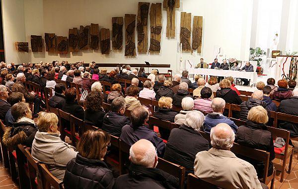 Cerkev Kristusa Odrešenika naj še naprej daje nove in nove sadove