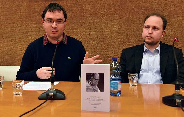Dr. Malmenvall v Društvu slovenskih izobražencev o poteh ruske teologije
